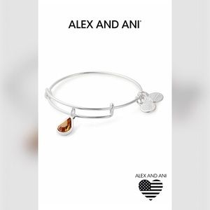 🆕 Alex and Ani - Nov Birthstone Swarovski Bangle